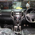 Ssangyong Tivoli dashboard at the 2015 Nepal Auto Show