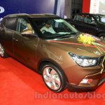 Ssangyong Tivoli front quarter at the 2015 Nepal Auto Show