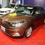 Ssangyong Tivoli front three quarter (1) at the 2015 Nepal Auto Show