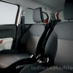 Suzuki Ignis seats press images