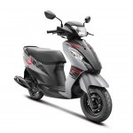 Suzuki Let's Matte Grey official