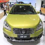 Suzuki SX4 S-Cross 1.4 T (Boosterjet) front at the 2015 Chengdu Motor Show