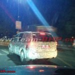 Tata Hexa SUV rear quarter spotted in Pune