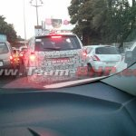 Tata Hexa SUV rear spotted in Pune