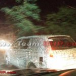 Tata Hexa SUV side left spotted in Pune