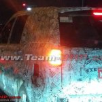 Tata Hexa SUV side spotted in Pune