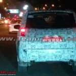 Tata Hexa SUV tail lamp spotted in Pune