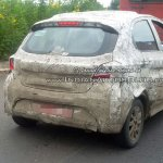 Tata Kite rear three quarter spotted on test in India