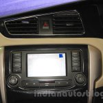 Tata Zest center console at the 2015 Nepal Auto Show