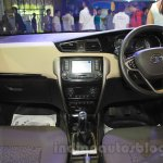 Tata Zest dashboard at the 2015 Nepal Auto Show
