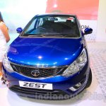 Tata Zest front at the 2015 Nepal Auto Show