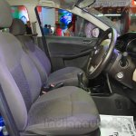 Tata Zest front cabin at the 2015 Nepal Auto Show