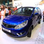 Tata Zest front quarter at the 2015 Nepal Auto Show