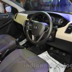 Tata Zest interior at the 2015 Nepal Auto Show
