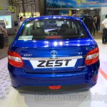 Tata Zest rear at the 2015 Nepal Auto Show