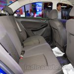 Tata Zest rear cabin at the 2015 Nepal Auto Show