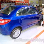 Tata Zest rear quarter at the 2015 Nepal Auto Show