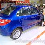 Tata Zest rear quarter at the 2015 Nepal Auto Show