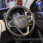 Tata Zest side at the 2015 Nepal Auto Show