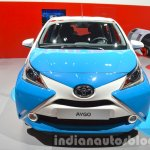 Toyota Aygo x-clusiv special edition front at the IAA 2015
