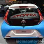 Toyota Aygo x-clusiv special edition rear at the IAA 2015