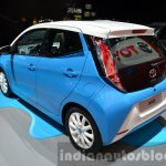 Toyota Aygo x-clusiv special edition rear three quarter at the IAA 2015