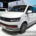 VW Multivan Panamericana front three quarter at the IAA 2015