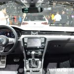 VW Passat dashboard at the 2016 Geneva Motor Show