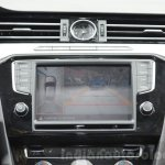 VW Passat infotainment at the 2016 Geneva Motor Show