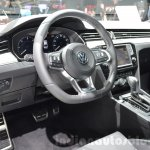 VW Passat interior at the 2016 Geneva Motor Show
