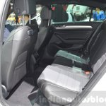 VW Passat rear seat at the 2016 Geneva Motor Show
