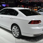 VW Passat rear three quarter at the 2016 Geneva Motor Show