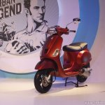 Vespa SXL front three quarter launch Mumbai