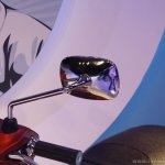 Vespa SXL rear view mirror launch Mumbai