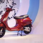 Vespa SXL side launch Mumbai