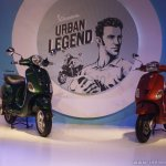 Vespa VXL and Vespa SXL front launch Mumbai