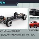 Volvo Geely CMA modular platform