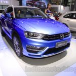 Zotye S21 front fascia at the 2014 Chengdu Motor Show