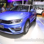 Zotye S21 front quarter at the 2014 Chengdu Motor Show