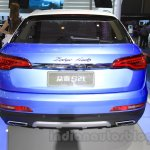 Zotye S21 rear at the 2014 Chengdu Motor Show
