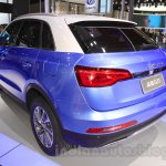 Zotye S21 rear quarter at the 2014 Chengdu Motor Show