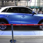 Zotye S21 side at the 2014 Chengdu Motor Show