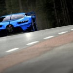 wallpaper of the Bugatti Vision GT (official image)