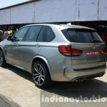 2015 BMW X5 M rear three quarter launched in India