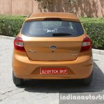 2015 Ford Figo rear first drive review