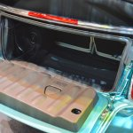 2015 Mini Convertible boot at the Tokyo Motor Show 2015
