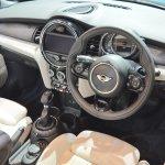 2015 Mini Convertible dashboard at the Tokyo Motor Show 2015