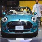2015 Mini Convertible front at the Tokyo Motor Show 2015