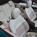 2015 Mini Convertible seats at the Tokyo Motor Show 2015
