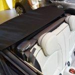 2015 Mini Convertible top folded at the Tokyo Motor Show 2015